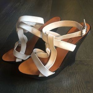 Lanvin Paris Wedge Sandal Size 36